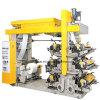 Multicolor Paper Plastic Film Non Woven Fabic Flexographic Printing Machine
