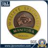 Antique Brass Plating Metal Badge
