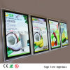 High Quality Slim Frameless Acrylic Menu Crystal LED Light Box