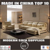 Living Room Sofa Set with L Shape Leather Couch