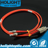 Fiber Jumper Cable Sc to St Multimode Duplex Orange