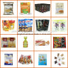 Custom Printed Snack, Candy, Sweets, Dried Fruits Packaging Bags