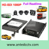 1080P 3G 4 Channel Bus DVR Black Box for Vehicle & Car & Truck & Taxi CCTV Monitoring System