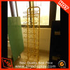 Yellow Metal Accessory Display Stand