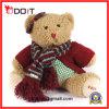 Girls Soft Furry Plush Teddy Bear with Scarf