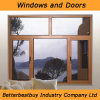 5mm Double Glazing Aluminum Wood Window