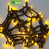 Rubber Cable IP65 Outdoor Decorative Christmas Lights Fairy Light