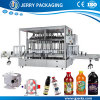 China Automatic Detergent Lotion Liquid Bottling Bottle Filling Machine