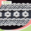 Cotton Nigerian Voile Lace Bridal Embroidered Lace Trim