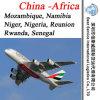 Freight Agent Mozambique, Namibia, Niger, Nigeria, Reunion, Rwanda, Senegal (Africa)