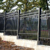 Black Galvanized Fence, Powder Coating Fence, Garden Fence, Outdoor Fence