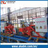 2000t Aluminium Extrusion Double Puller with Flying Saw