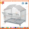 Industrial Metal Foldable Warehouse Wire Mesh Container (ZHra67)