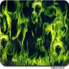 Width 1 M Flame Design Aqua Print Hydrographic Film&Tskh135-2