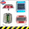 Waterproof IP68 Pavement Lights Round Powered Solar Marker