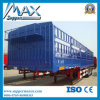 40t Fence Semi Trailer for Trucks and Trailers, Fence Truck Trailer Double Decks