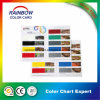 Customized Folded Printing Paint Color Catalog