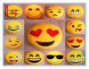 20 Style Emoji Pillows Round Cushion