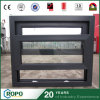 Black Frame PVC Double Glazing Single Hung Window