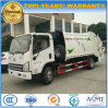 4X2 FAW 6 Tons Refuse Compress Truck 6 M3 Garbage Compactor Truck