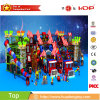 2017 New Children Fun Park GS Proved Playground Indoor Space Theme