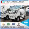 New Mobile Designed Mini Concrete Mixer Truck