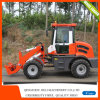 1.2ton Mini Loader Zl12 Hydraulic Wheel Loader with Snow Tyre