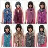 100% Polyester, Chiffon Material Multifunctional Scarf with Printing
