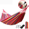 Factory Price Colorful Double Person Parachute Canvas Fabric Travel Hammock