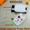 New 8000mAh Totoro Power Bank with Two USB Ports (YT-PB27-03)