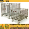 Foladable & Stackable Wire Mesh Pallet Container for Warehouse Storage, Wire Mesh Basket, Wire Mesh Stillages