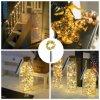 Latest Wine Bottle Cork Shape Copper String Light 3m30LED with Bells