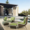 New Design Popular Hotel Furniture Rattan Outdoor Sofa Set Garden Sofa Outdoor Sofa