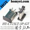 SMT Type 3pin Solder 3.1 USB Vertical C Type Receptacle Connector