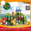 Ocean Theme Kids Plastic Slide Outdoor Playground Equipment