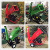 Good Working Efficiency Recoil / Electrical Staring 15 HP Wood Chipper / Shredder