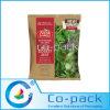 Paper Plastic Laminated Salad Bag with Transparent Window