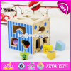Best Children Coordinating Eye and Hand Wooden Educational Toys Funny Shape Blocks Kids Wooden Educational Toys W12D067