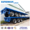 40FT 3 Axle Container Flatbed Trailer for Sales