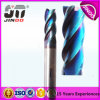 Blue Coating HRC60 Solid Carbide Longer End Mill for Hardsteel