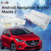 Android Interface Car GPS Navigation for Mazda 2 with WiFi Mirrorlink