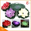Garden Pool Floating Lotus Flower Solar LED Night Light Night for Pond Fountain Decoration