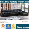 Factory Price Wholesale Button Leather Sofa for Home Furniture (8057)