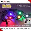 LED Rock Light Smartphone APP, Bluetooth Control 4PCS 6PCS 8PCS 12PCS in One Kit for Cars Boat