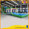 Hot Sale 3 in 1 Jungle Inflatable Water Slide with Pool (AQ10137)