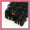 for Sale Black Color Brazilian Hair Weft Deep Curly 14inches