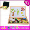 2015 Multifunction Magnetic Wooden Easel Blackboard, Children Non-Toxic Wooden Blackboard, Wooden Double Sides Blackboard W12b060