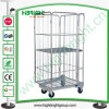 Wire Mesh Laundry Roll Cage Cart