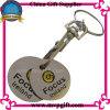 Metal Key Chain with Trolley Coin Keyring Gift