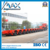 Multi-Axle Heavy Duty Low Flatbed Trailer 100-260ton Loading with BPW Axles